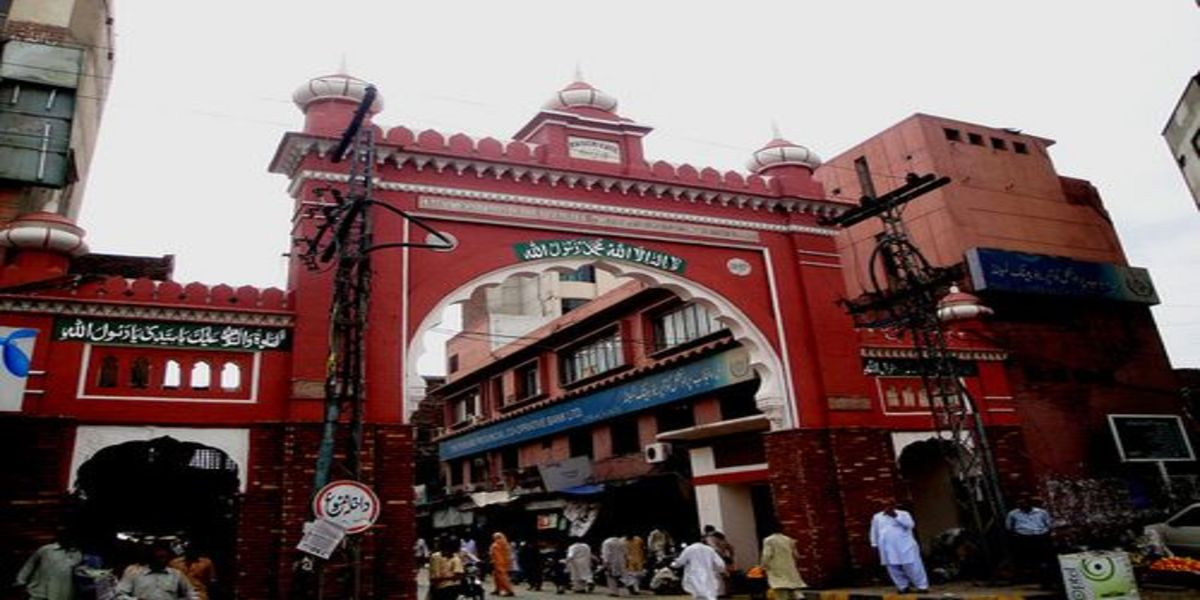 qaisery gate - Faisalabad Clock Tower History-Faisalabad Famous Places